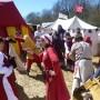 Danse, les lavandières, compagnie franche du forez, médiévale, Loire, Rhône Alpes